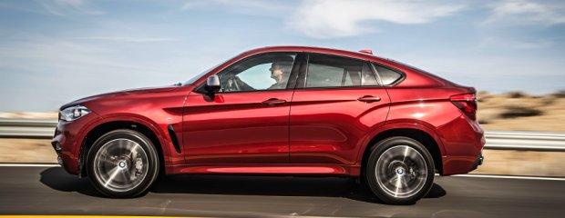 Nowe BMW X6