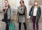 Street fashion: wojskowa kurtka