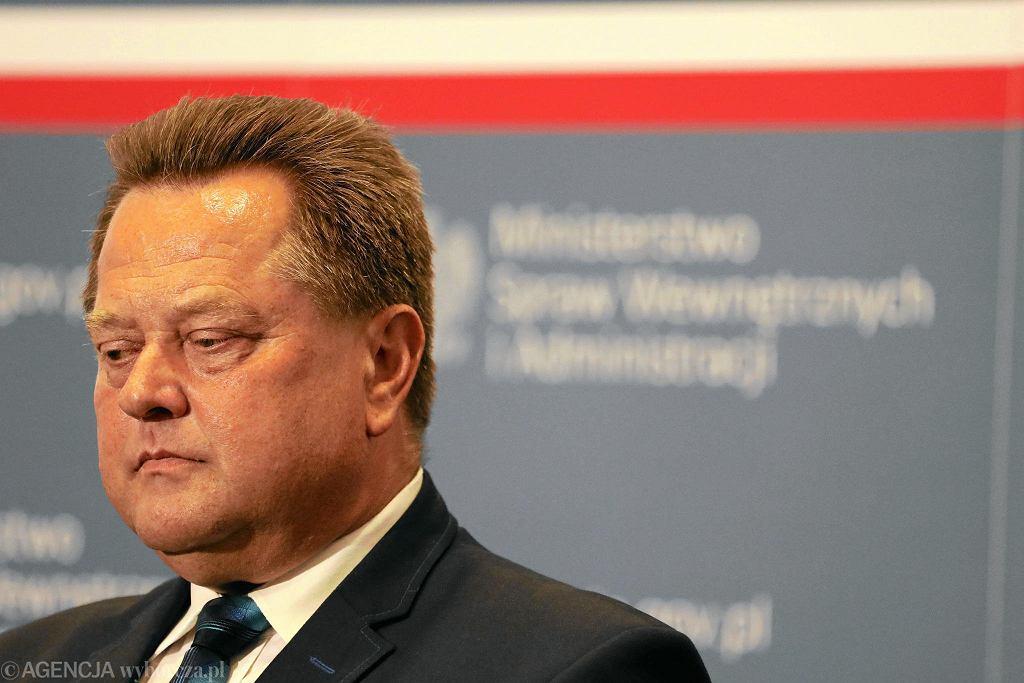 Wiceminister spraw wewnętrznych Jarosław Zieliński