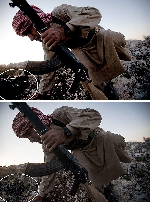 Laureat Pulitzera przerobi� zdj�cie z Syrii. AP zrywa z nim wsp�prac�