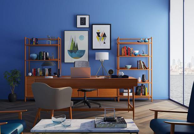 Odcienie niebieskiego we wnętrzach - jak używać i do czego pasują?