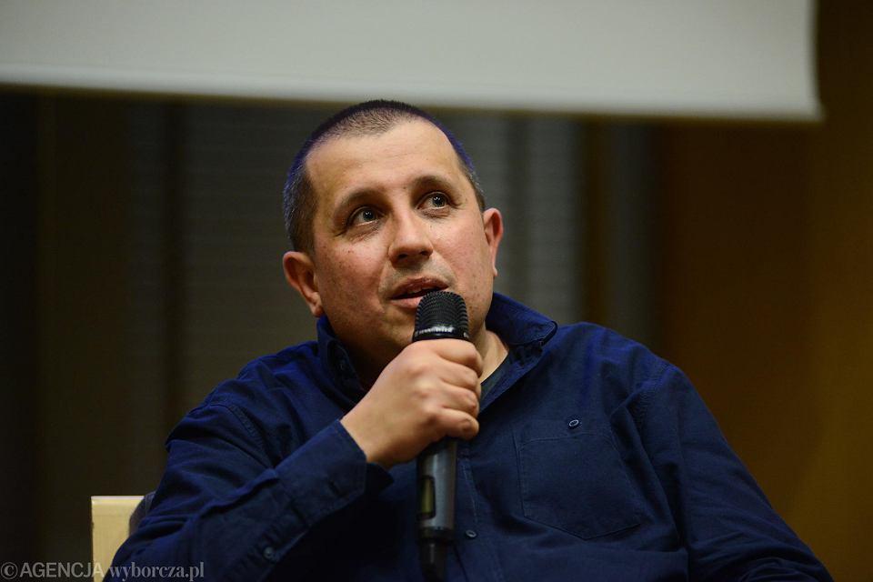 11.10.2018, Warszawa, spotkanie z Marcinem Wichą, laureatem Nagrody Literackiej NIKE 2018