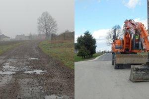 """""""Dobra zmiana"""" w rodzinnej wsi Beaty Szydło. Do domu dojeżdżała gruntówką, teraz to najlepsza droga w gminie"""