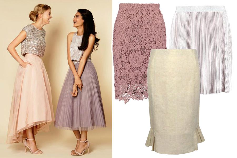 cdb358360 Co zamiast sukienki na wesele - spódnica / fot. weddingpartyapp.com / mat.