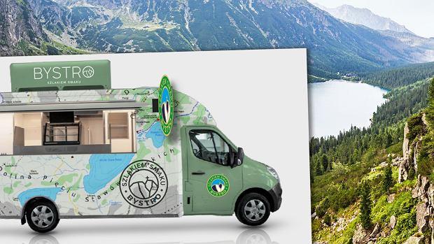 """Kiedyś kanapki z folii, teraz hipsterskie bary. Pierwszy food truck w Tatrach: """"Walczymy z kulinarną tandetą"""""""