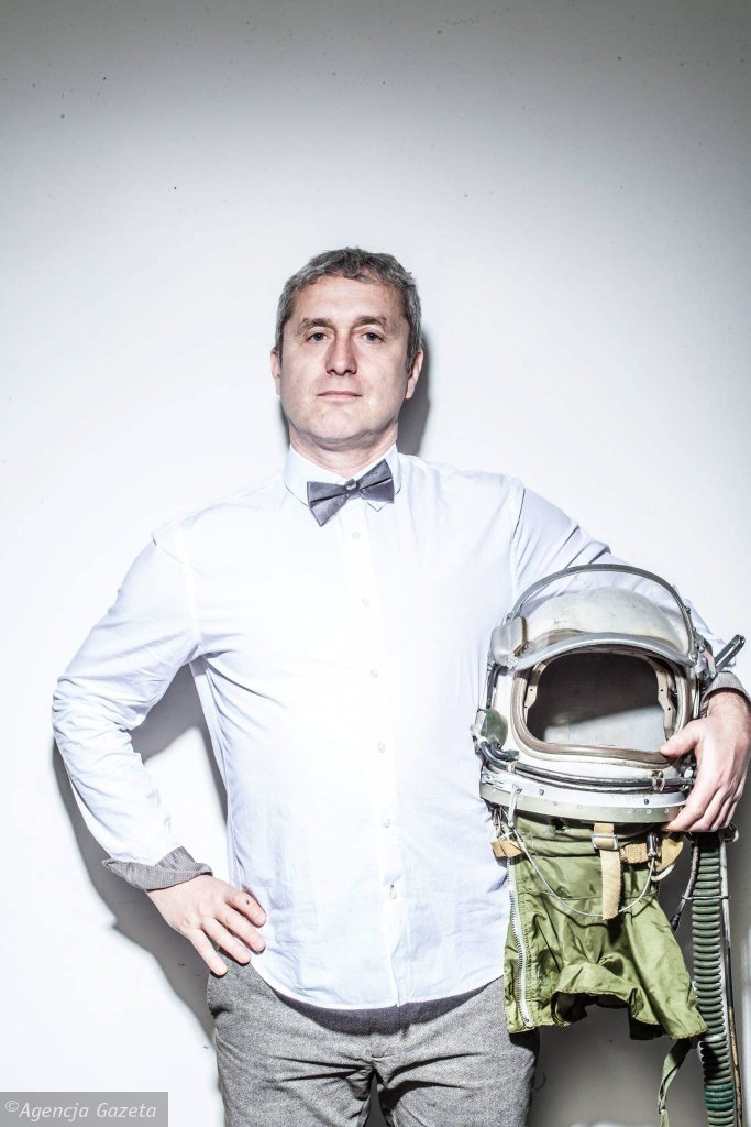 Artur Liebhart, dyrektor festiwalu Docs Against Gravity Film Festival / ALBERT ZAWADA
