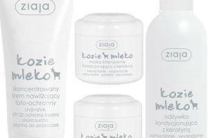 Nowe produkty z linii Ziaja Kozie Mleko