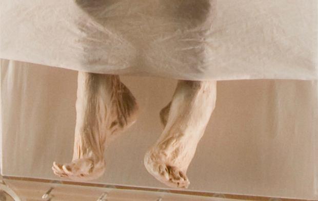 Doskonale zachowane stopy mumii
