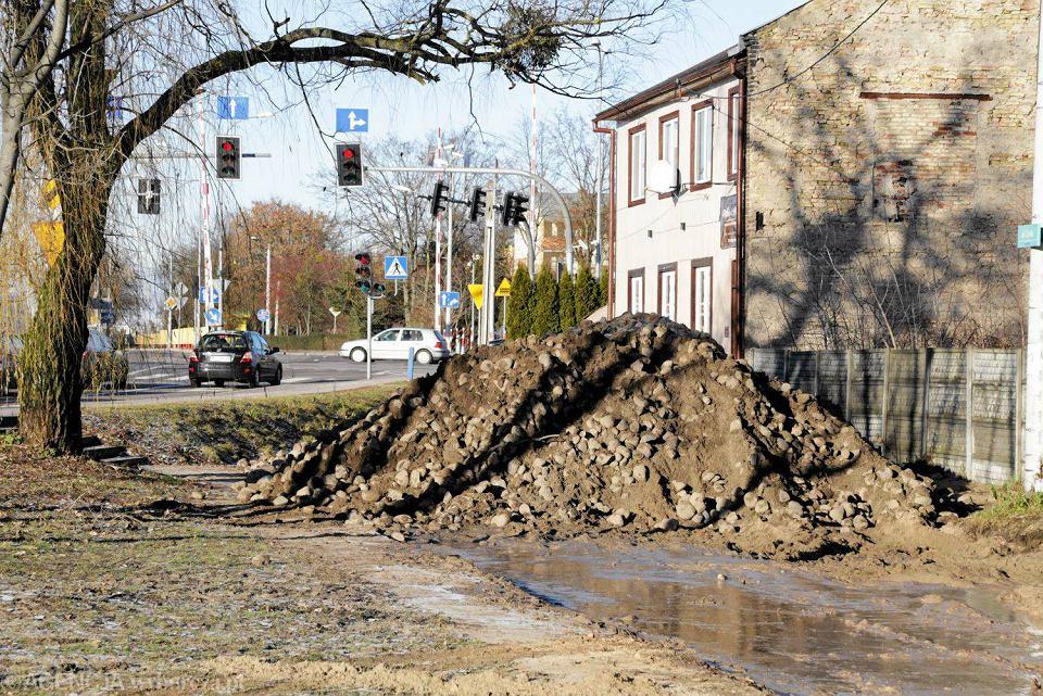 Rozkopana ulica Czysta