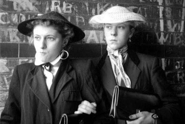 Dziewczyny z Teddy Boys, czyli subkultura londy�skich gang�w z lat 50-tych