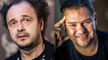 Aktorzy Arkadiusz Jakubik i Tomasz Karolak