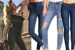Kolaż, spodnie jeansowe/Materiały partnera/www.instagram.com/marcelina_zawadzka