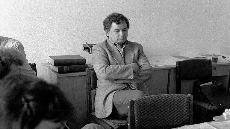 Jarosław Kaczyński, 1990 rok