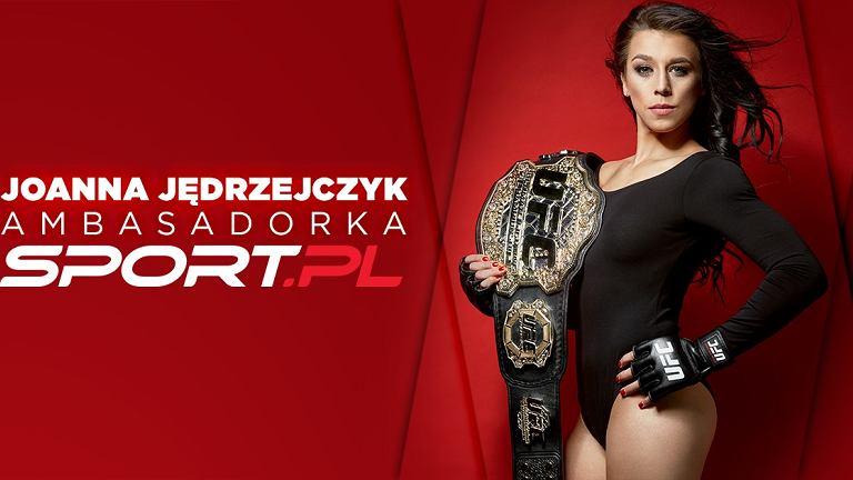 Joanna Jędrzejczyk ambasadorka Sport.pl