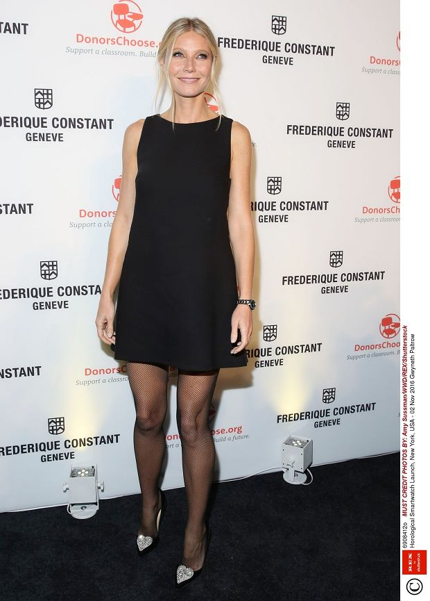 /Gwyneth Paltrow promuje  Horological Smartwatch