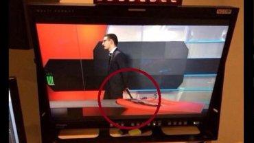 Uzbrojony napastnik wtargn�� do holenderskiej TV. Chcia�, by go pokazali na ekranie