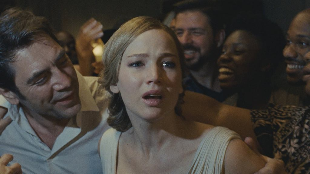 Javier Bardem i Jennifer Lawrence w filmie 'Mother!', reż. Darren Aronofsky / Materiały dystrybutora
