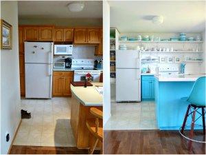 Metamorfoza kuchni, nijaka kuchnia przekształcona w spektakularne pomieszczenie