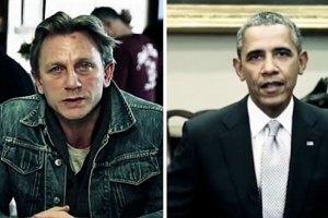 Barack Obama i James Bond w jednym filmie. Zgodnie przyznają: Potrzebujemy waszej pomocy