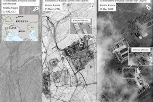 Rosja wycofa�a wojska z ukrai�skiej granicy? NATO publikuje zdj�cia satelitarne, kt�re temu przecz�