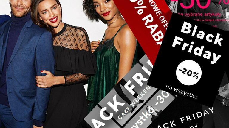 Black Friday 2017 - promocje w sklepach odzieżowych