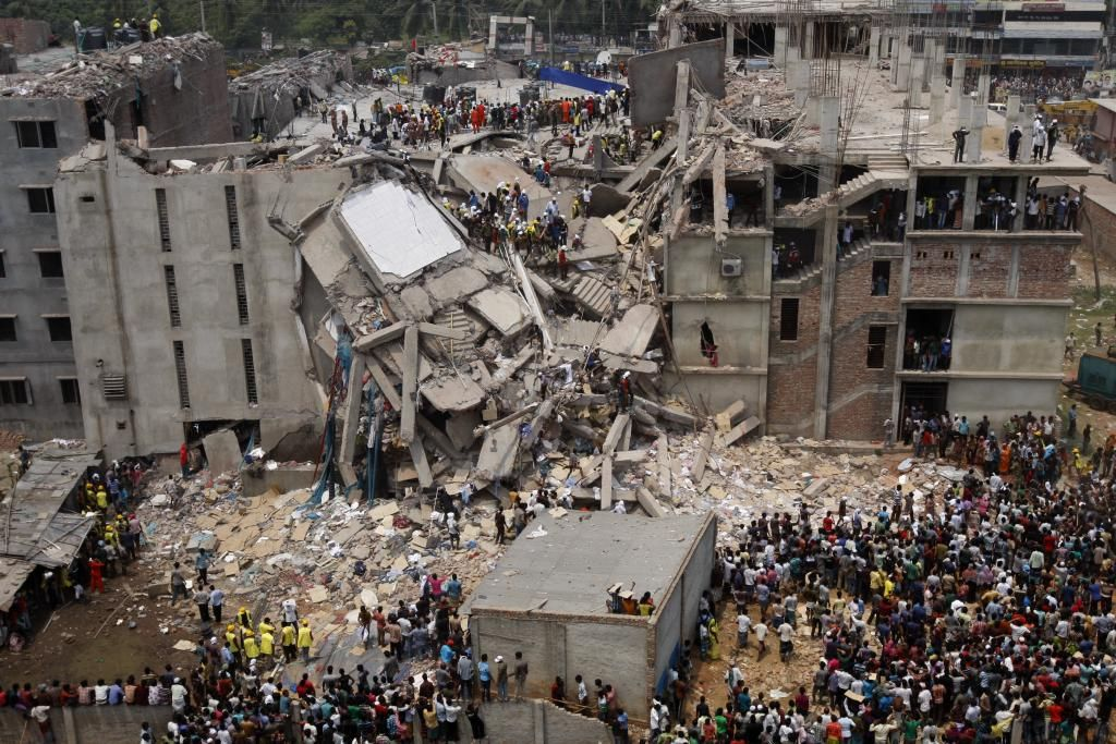 Katastrofa w Rana Plaza (fot. rijans / Wikimedia.org / CC BY-SA 2.0)
