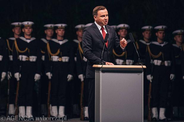 Apel smoleński na Westerplatte. Prezydent Duda przypomniał słowa Lecha Kaczyńskiego