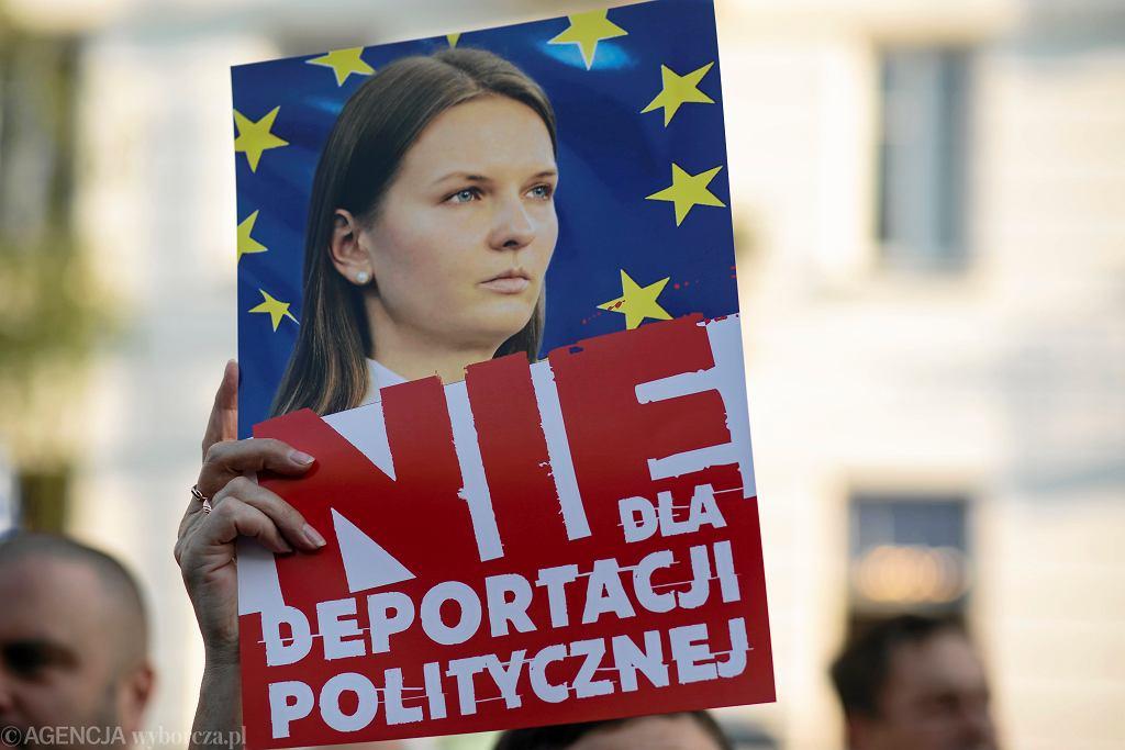 Protest w obronie Ludmiły Kozłowskiej