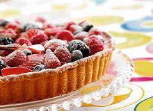 Tarta z creme brulée i owocami - ugotuj