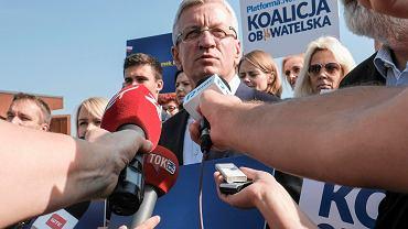 Piątkowa konferencja rozpoczynająca kampanię Jacka Jaśkowiaka i Koalicji Obywatelskiej
