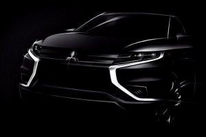Salon Pary� 2014 | Mitsubishi Outlander PHEV Concept-S