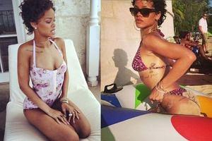 Fani pytaj�: Rihanna gdzie s� Twoje cycki?