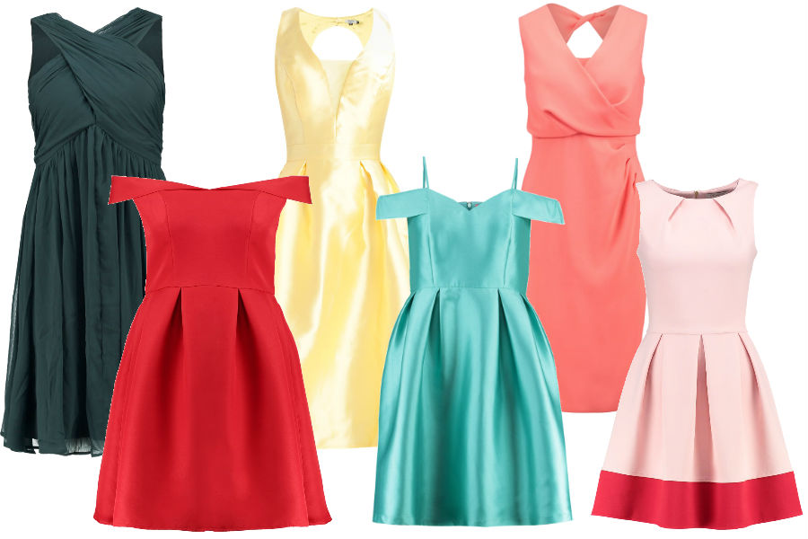 89b7a3ee5591 Kolaż Avanti24   Kolorowe sukienki na wesele   Materiały partnera