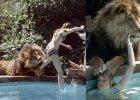 Nastoletnia Melanie Griffith przyja�ni�a si� z lwem! Potem 50 szwów na twarzy