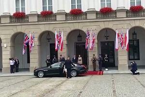 William i Kate już w Polsce. Andrzej Duda powitał parę książęcą w Warszawie
