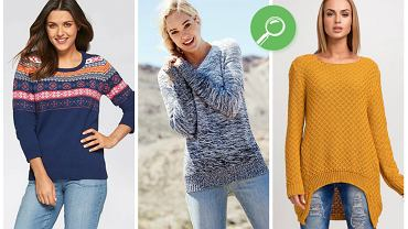 Ciepłe swetry i bluzki do 150 zł