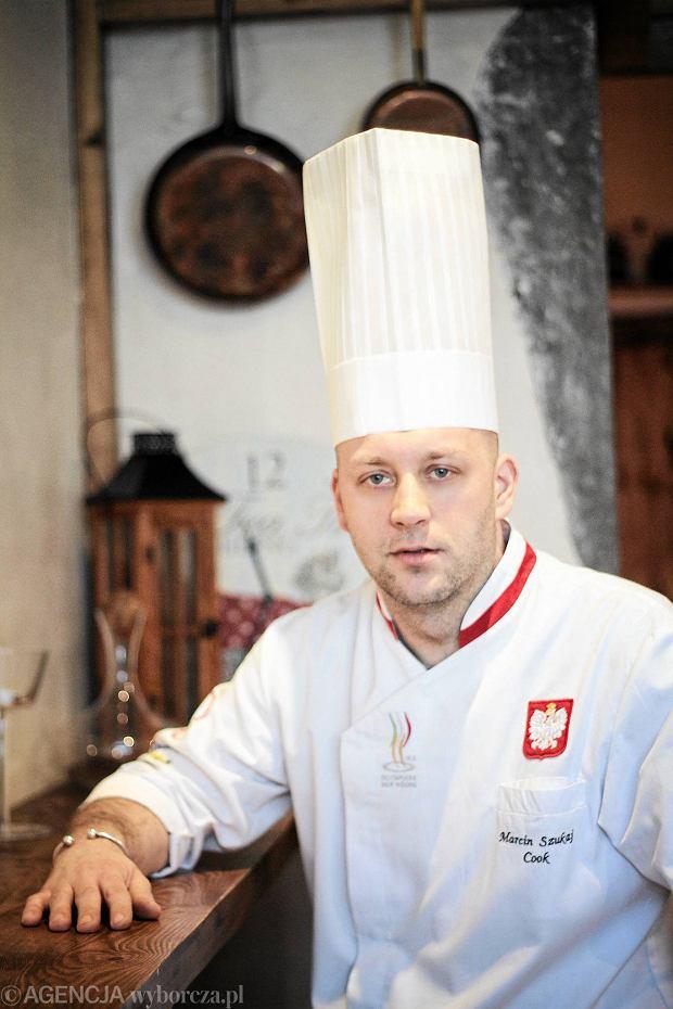 Marcin Szukaj Szef Restauracji Kuchnia