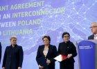 Podpisanie umowy ws. połączenia gazowego między Polską a Litwą