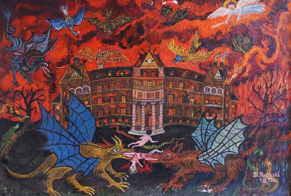 Obrazy Brunona Podjaskiego odnaleziono w Lubinie