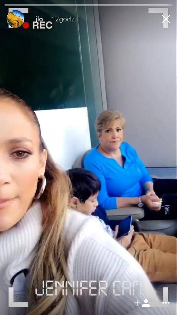 Jennifer Lopez pochwaliła się selfie z mamą. Teraz już