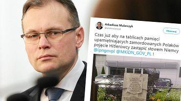 Arkadiusz Mularczyk i jego tweet