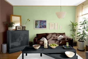 Jaki kolor ścian do brązowych mebli?