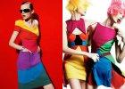 Ubrania w kolorach tęczy - trend wiosna/lato