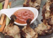 Skrzyde�ka z kurczaka ze s�odkim sosem chili - ugotuj