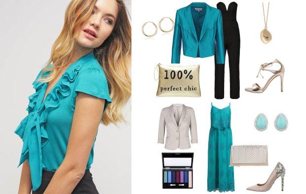 Turkusowe ubrania - zobacz, z czym modnie łączyć ten kolor