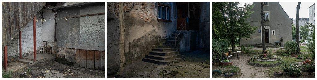 Polskie podwórka: Biała Podlaska - Bielsko Biała - Ciechanów (fot. Filip Springer)