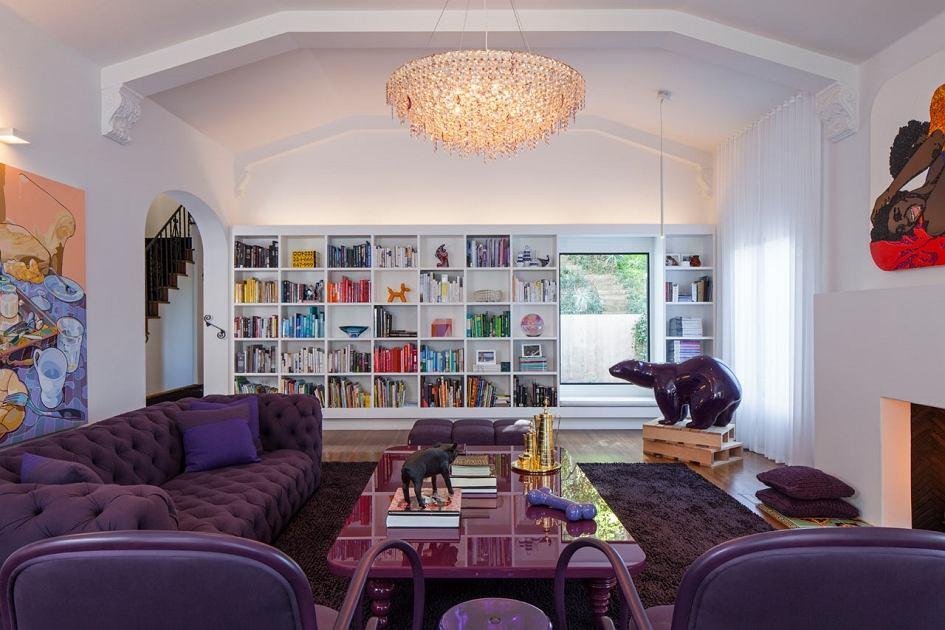 Domu z 1934 roku w Kalifornii. Wnętrza: Ghislaine Vinasa Interior Design