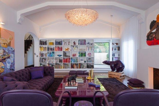 Domu z 1934 roku w Kalifornii. Wn�trza: Ghislaine Vinasa Interior Design