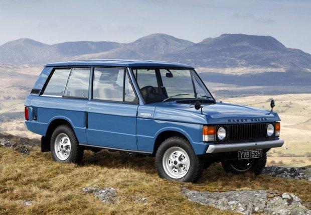 Pierwsza generacja Range Rovera (3d)