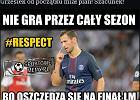 Memy po wielkim zwycięstwie PSG z Barceloną